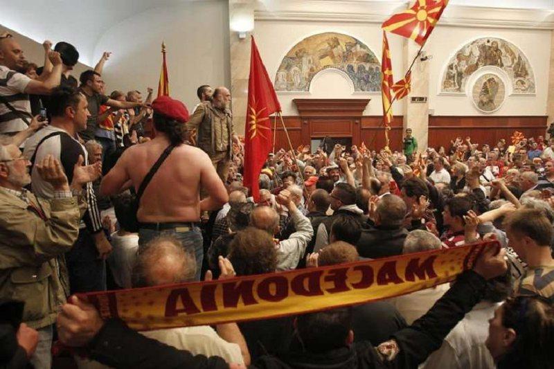 Sulmi në Parlament në 2017, gjykata maqedonase dënon ish-kreun e