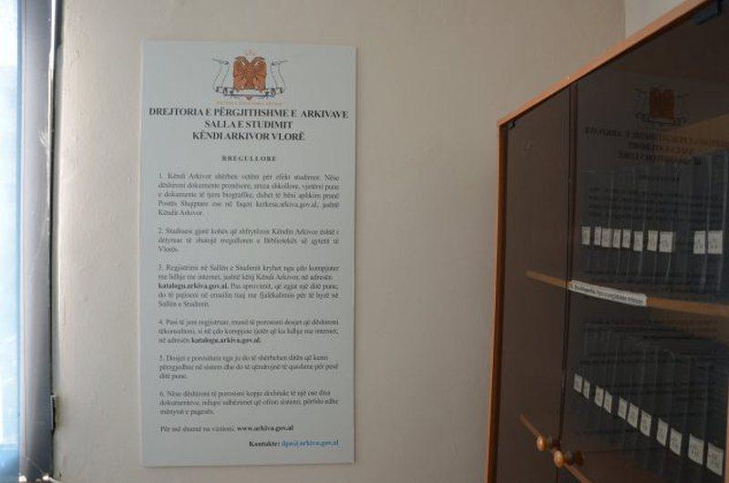 Hapet Këndi Arkivor në bibliotekën e Vlorës, mundësi