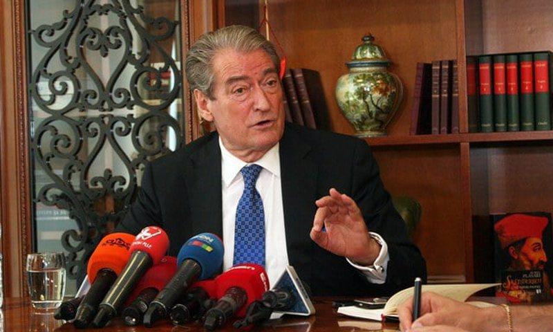 Sali Berisha fights US imperialism, warns ambassador that he will not withdraw