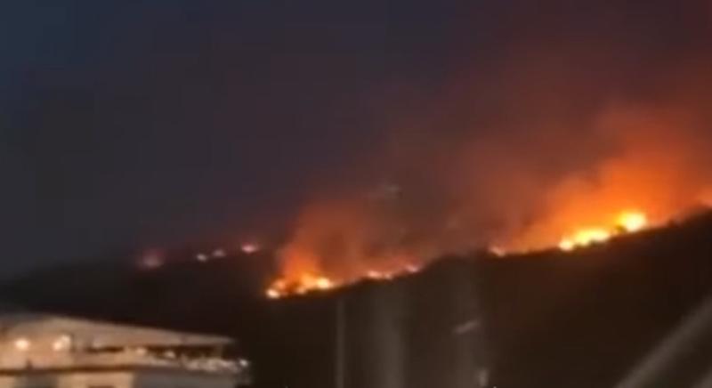 Zjarri i madh në Ksamil, policia arreston një 25-vjeçar, dalin