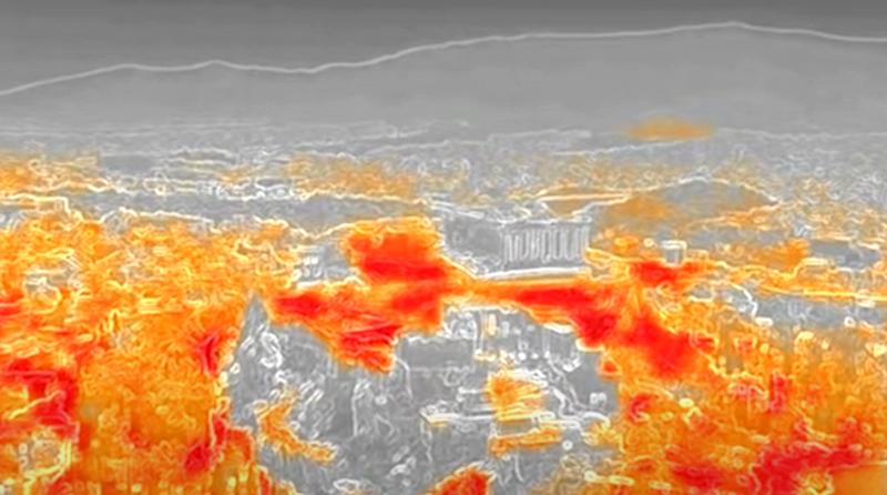 Shikoni videon/ Ngrihet alarmi, i nxehti matet me dron në Athinë,