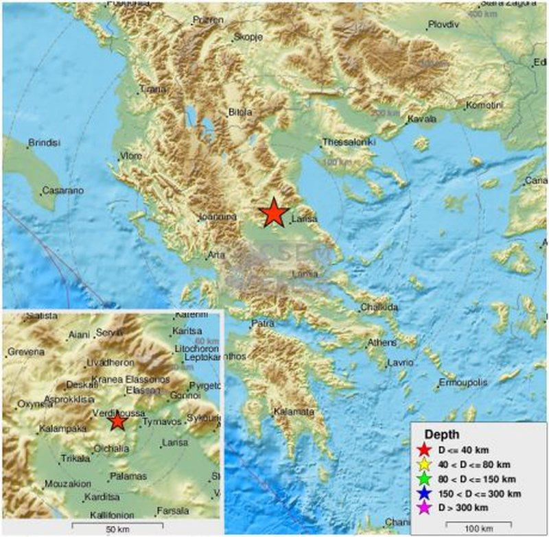 """Tërmeti i fortë """"tund' Greqinë, ja sa ishte magnituda"""
