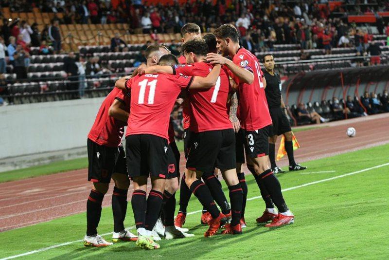Shqipëria shënon dy gola të shpejtë ndaj San Marinos