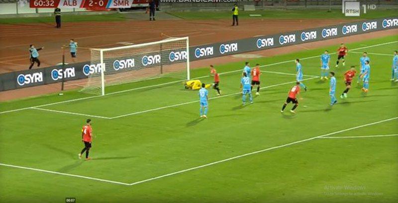 Shqipëria realizon golin e pestë, 'shkatërrohet' San