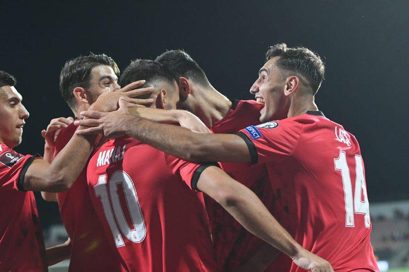 Shqipëria merr vendin e dytë në grup, fitore e thellë ndaj