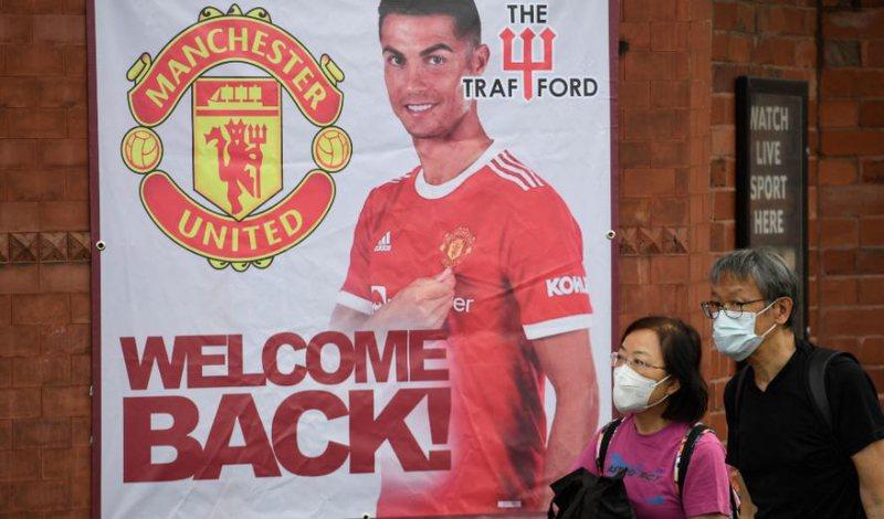 """Ronaldo """"ndez"""" atmosferën në Old Trafford pas debutimit te"""