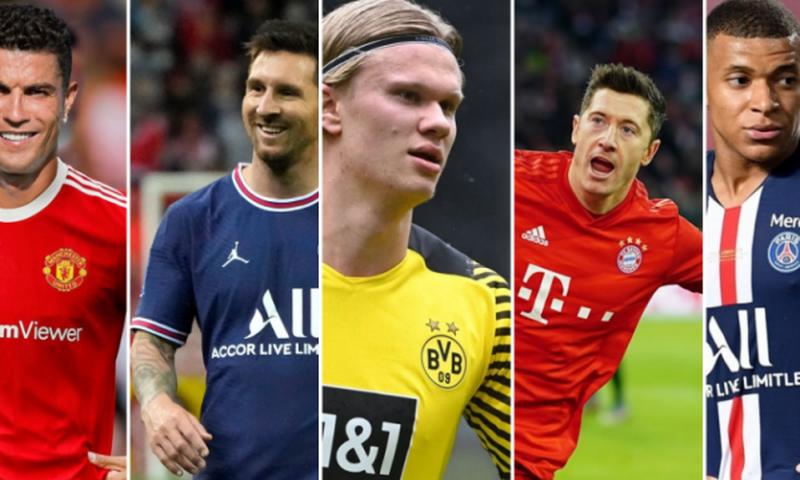 5 futbollistë në garë për golashënuesin e vitit, nuk