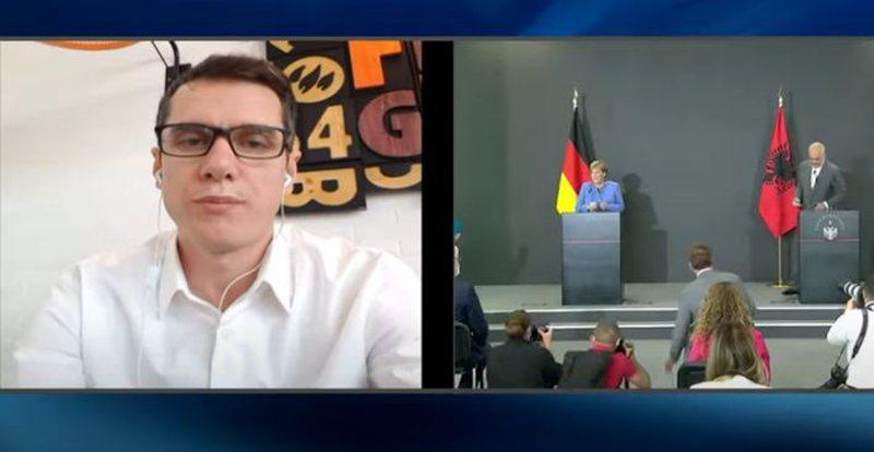 """""""Merkel u habit nga reagimi ynë""""/ Gazetari flet për"""