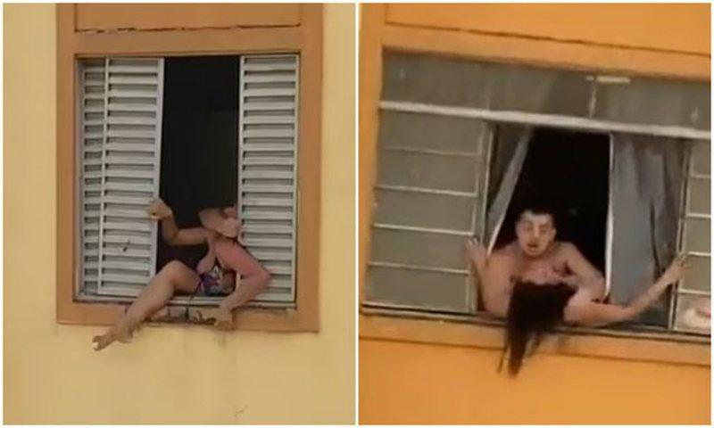 Video që po 'thyen' rrjetin/ Gruaja shtatzënë tenton