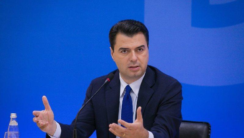 Recent political developments, Basha announces a press conference at the PD