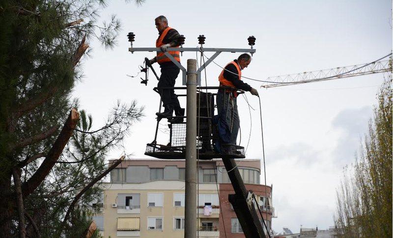 7 orë pa drita, OSHEE publikon zonat dhe oraret