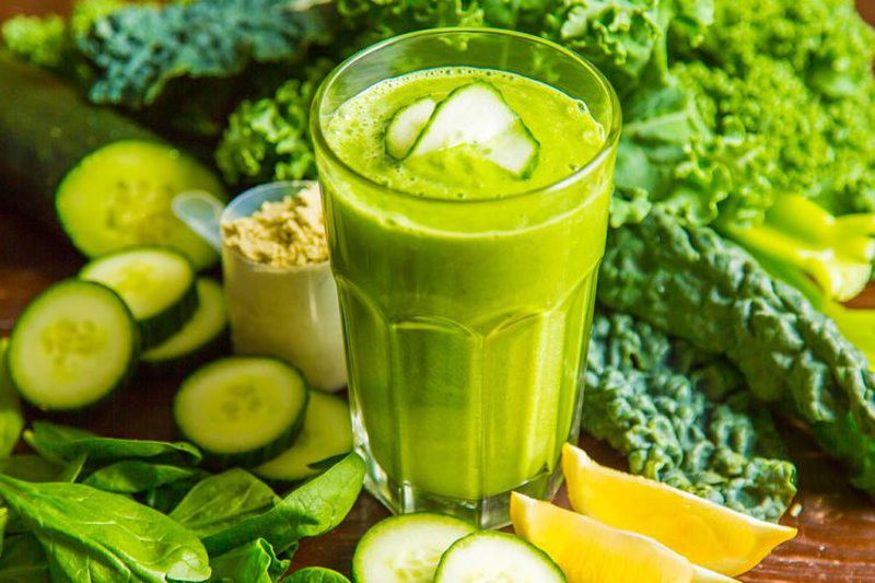 You should not separate it from your diet! Radical cleansing of the body and