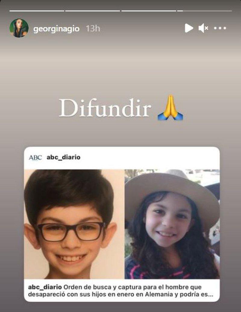 Georgina Rodriguez reagoi për rrëmbimin e dy fëmijëve