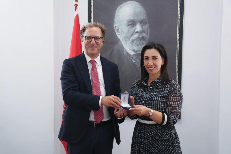 Delegacioni i Universitetit italian të Tuscia-s në Tiranë/ Kushi
