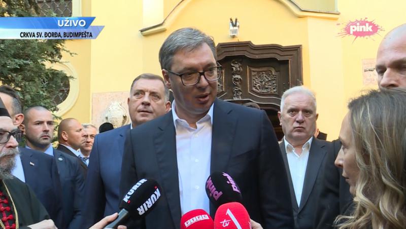 Reciprociteti i targave, Vuçiç del me deklaratën e prerë