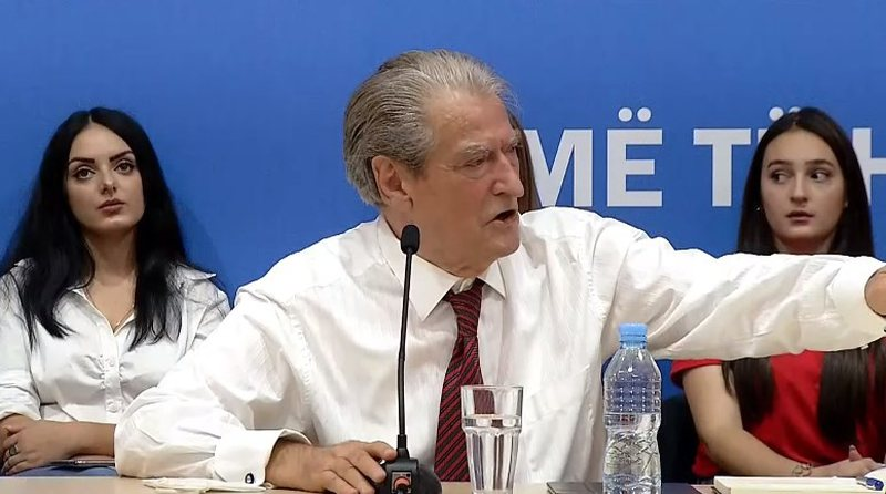 """I have the indisputable responsibility"", Sali Berisha speaks from"