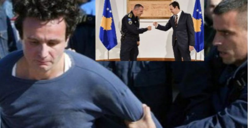 Albin Kurti pret në zyrë policin që e arrestoi para 16 viteve:
