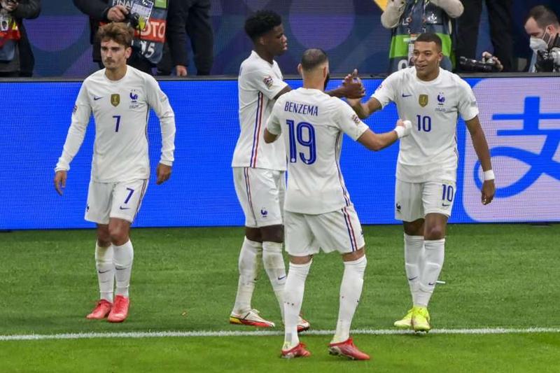 Franca thyen Spanjën në finale dhe fiton Ligën e Kombeve, Italia