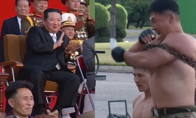 """Koreja e Veriut tregon """"dhëmbët"""", ushtarët"""