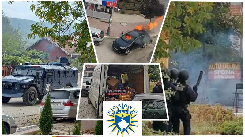 Gaz lotsjellës, makina të djegura dhe rikthim të barrikadave,