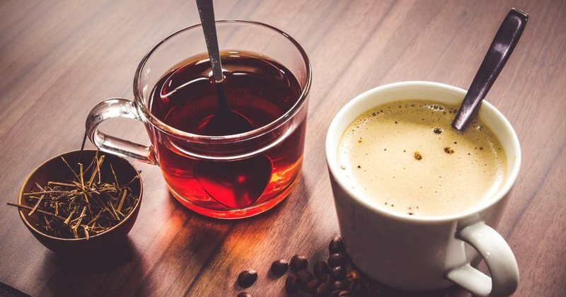 Experts say so! Coffee and tea are the most consumed beverages in the world,