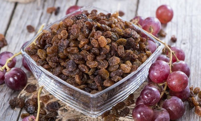 Raisins, treat anemia, reduce hypertension and prevent cancer