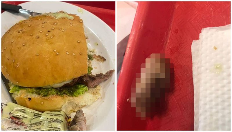 Klientja porosit hamburger, e pabesueshme se çfarë gjen brenda tij