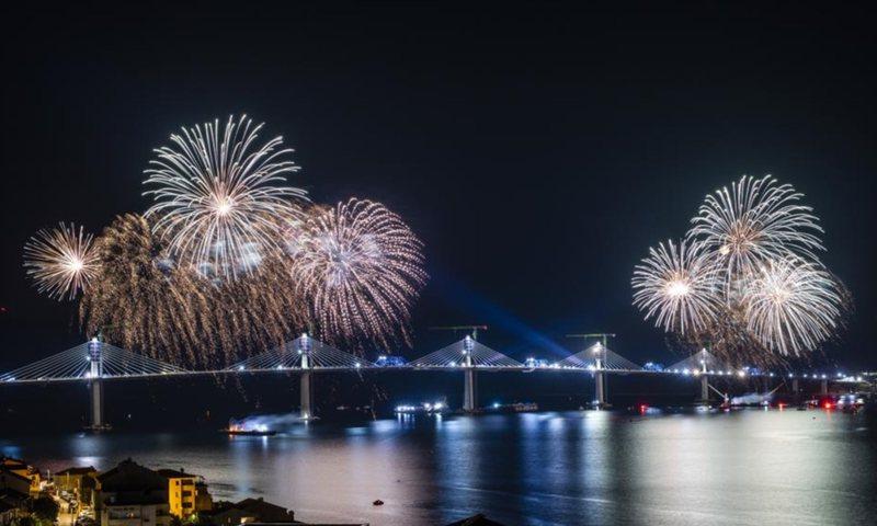 Kushtoi 420 milionë euro, Kroacia ndërton urën që