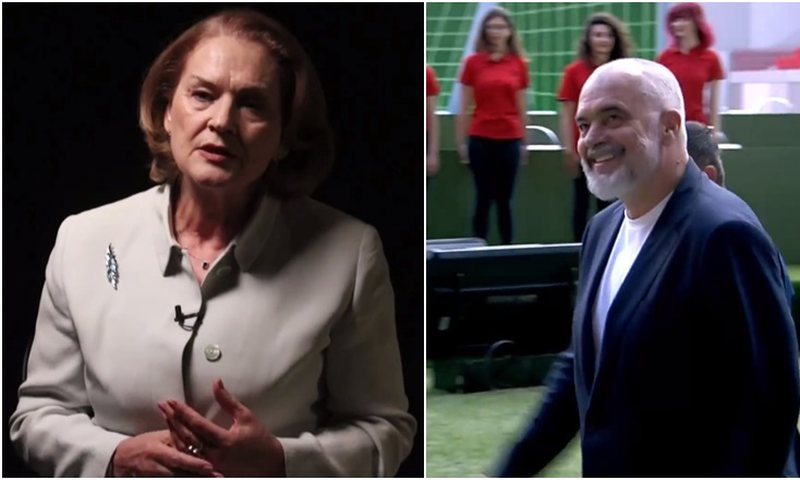 Arta Dade 'breaks the ice', leaves behind the accusations against Edi