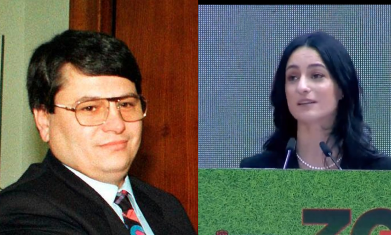 SURPRISE of the SP Congress, the daughter of the late Bashkim Fino with tears in