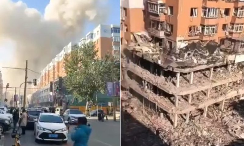Powerful gas explosion / 'Apocalyptic' footage released, some dead and